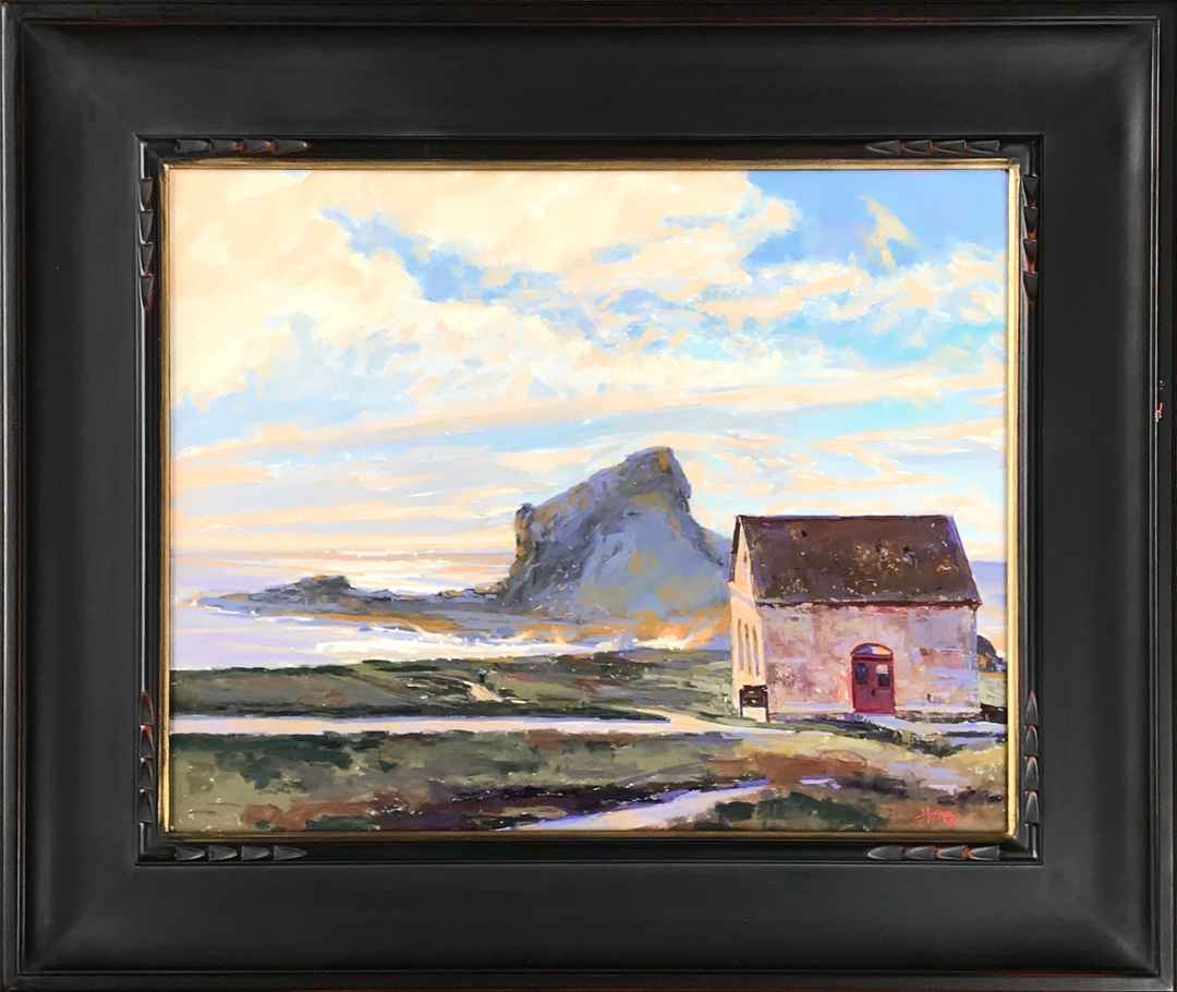 The Fog Horn House at... by  W. Truman Hosner - Masterpiece Online