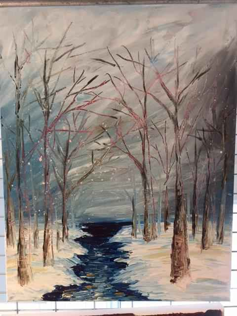 The River by  Boston Logan - Masterpiece Online