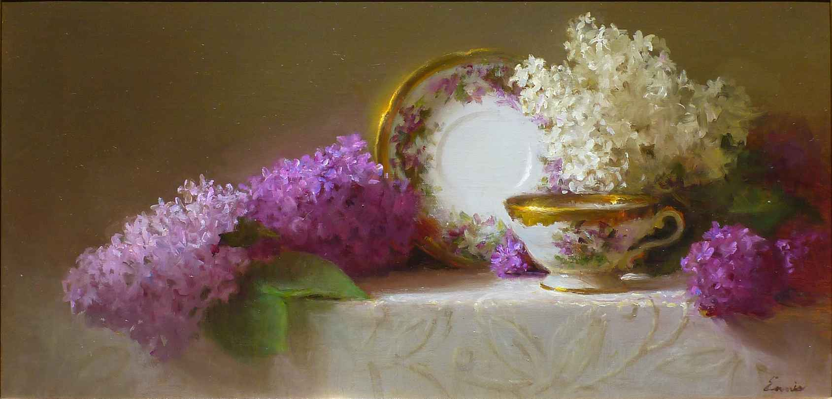 Memories in Lilac and... by Ms. Cary Ennis - Masterpiece Online