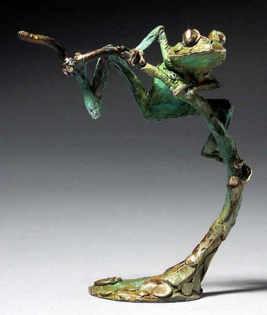 Tree Frog A by  Dan Chen - Masterpiece Online