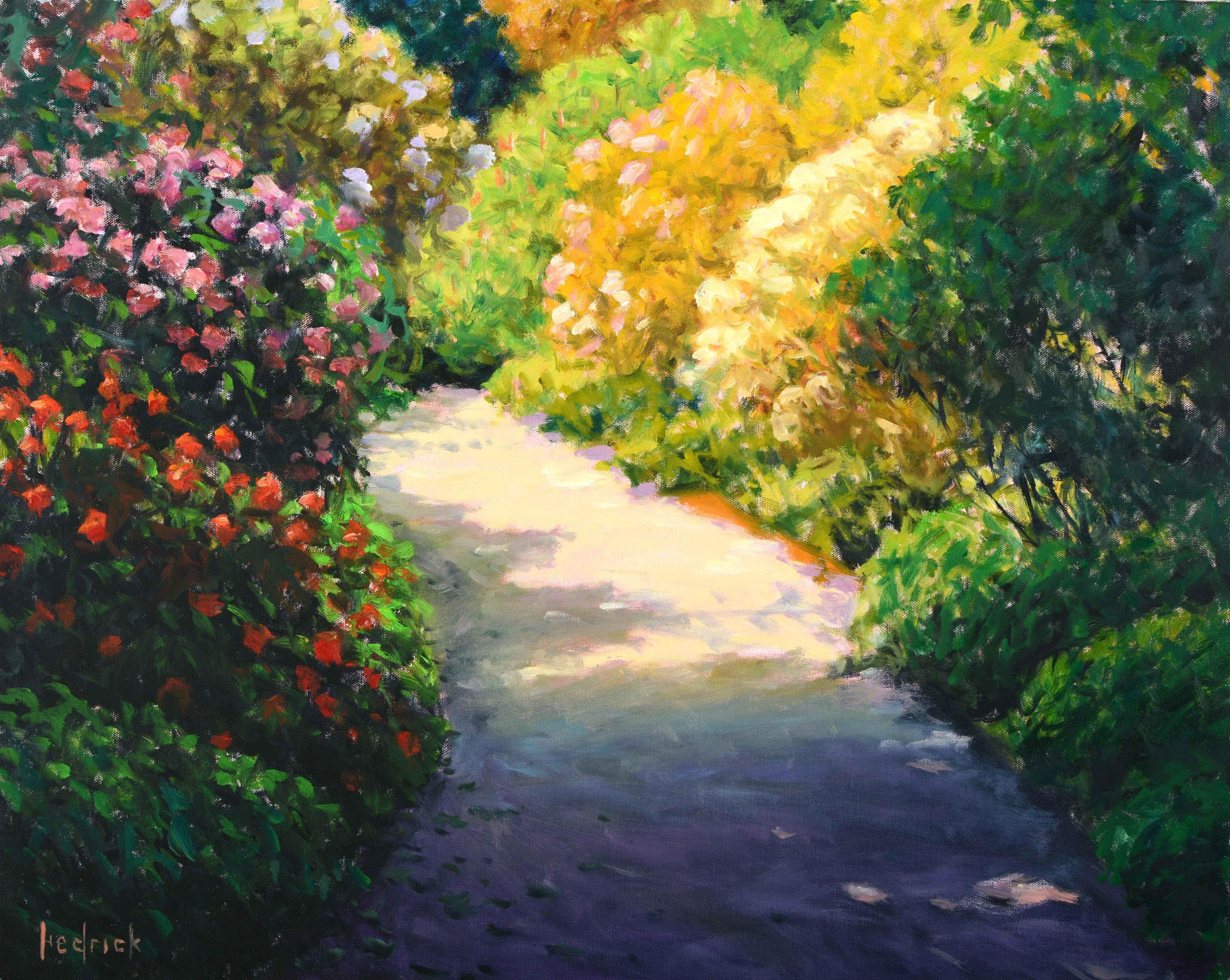 Sunlit Path  by  Ron Hedrick