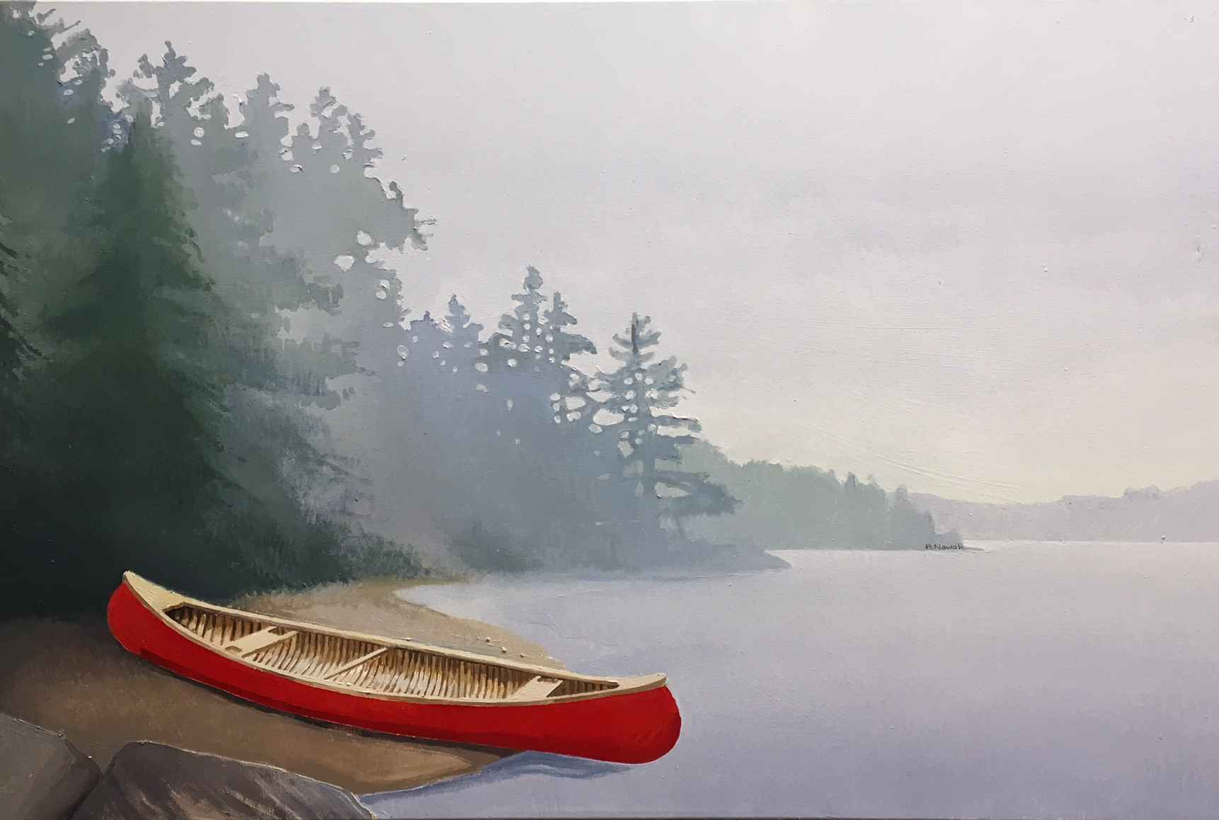 Light, Mist and Memory by  Brigitte Nowak - Masterpiece Online