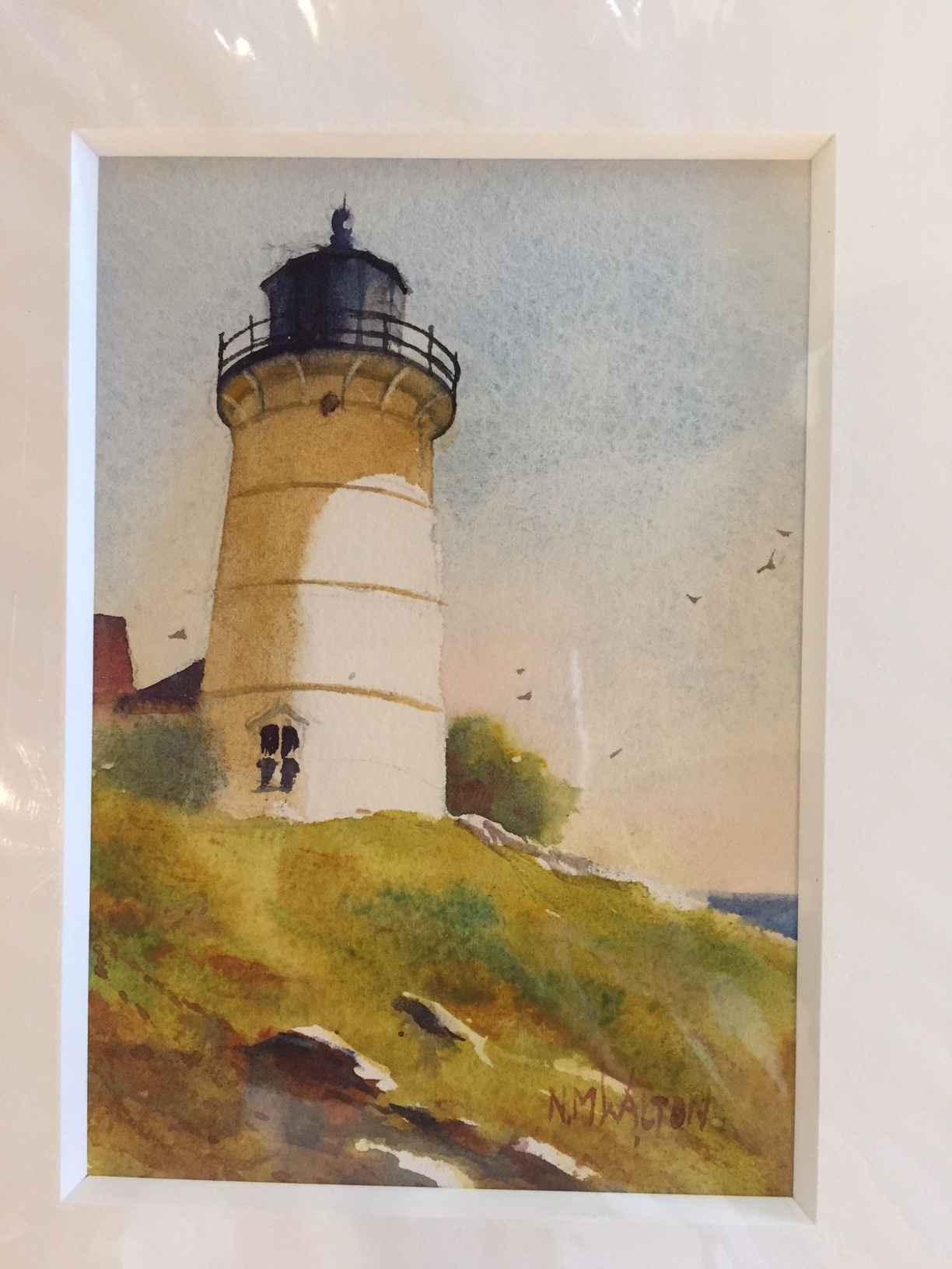 Nobska Light by  Nancy Motley Walton - Masterpiece Online