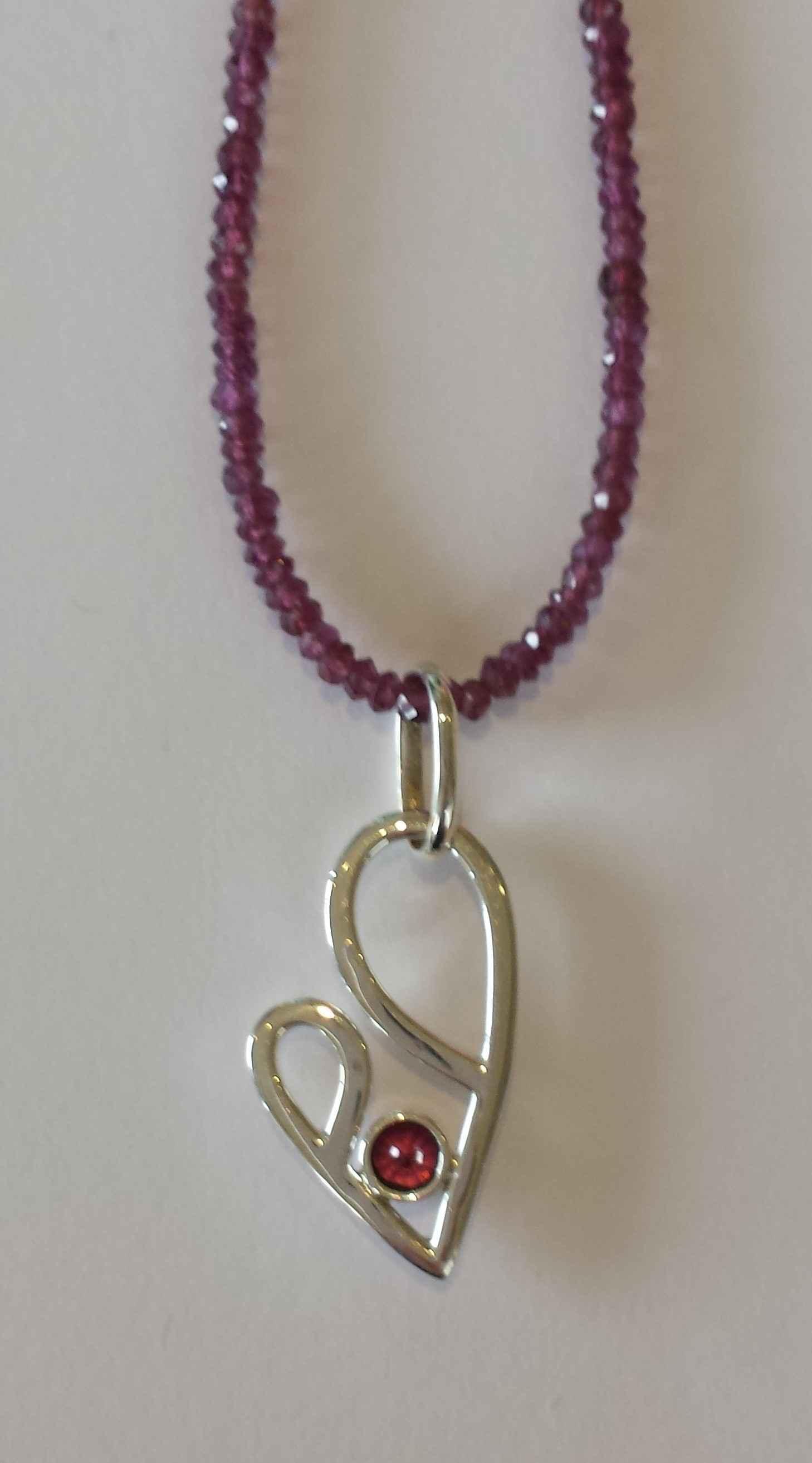 #21 Purple Garnet Bea... by Ms. Catherine Laing - Masterpiece Online