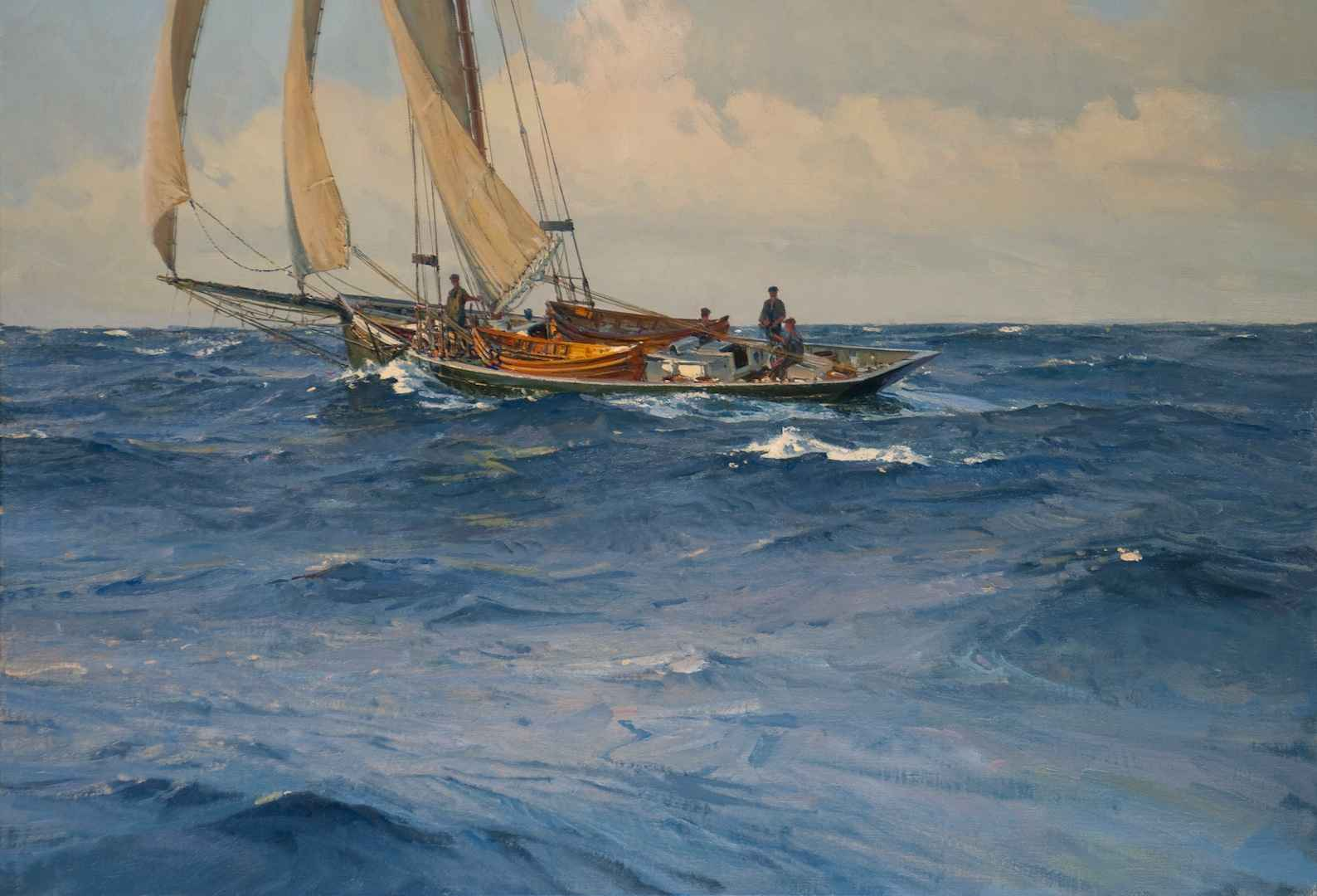 Offshore (SCD Resale) by Mr. Christopher Blossom - Masterpiece Online