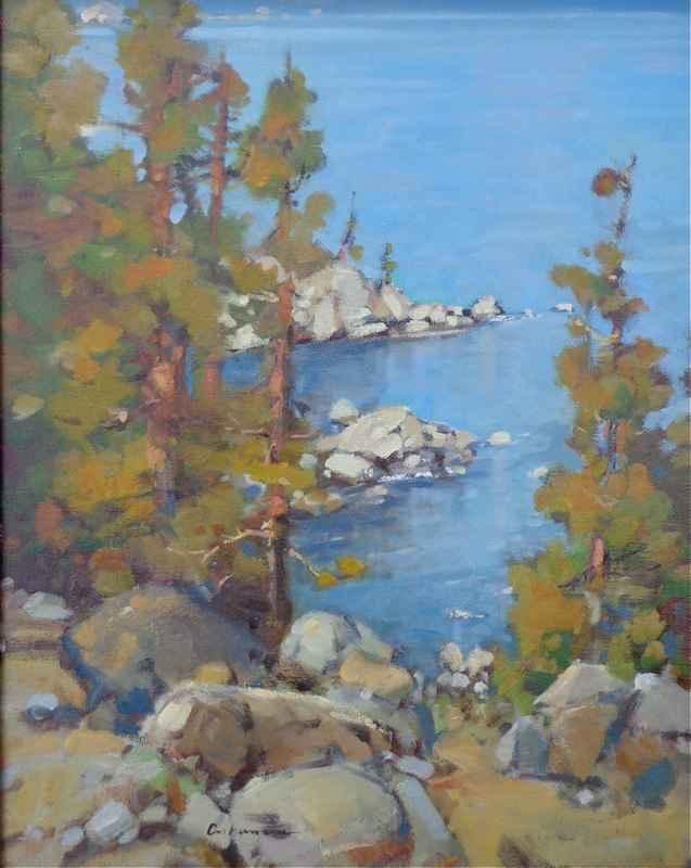 Tahoe Lakeside by Mr. Gene Costanza - Masterpiece Online