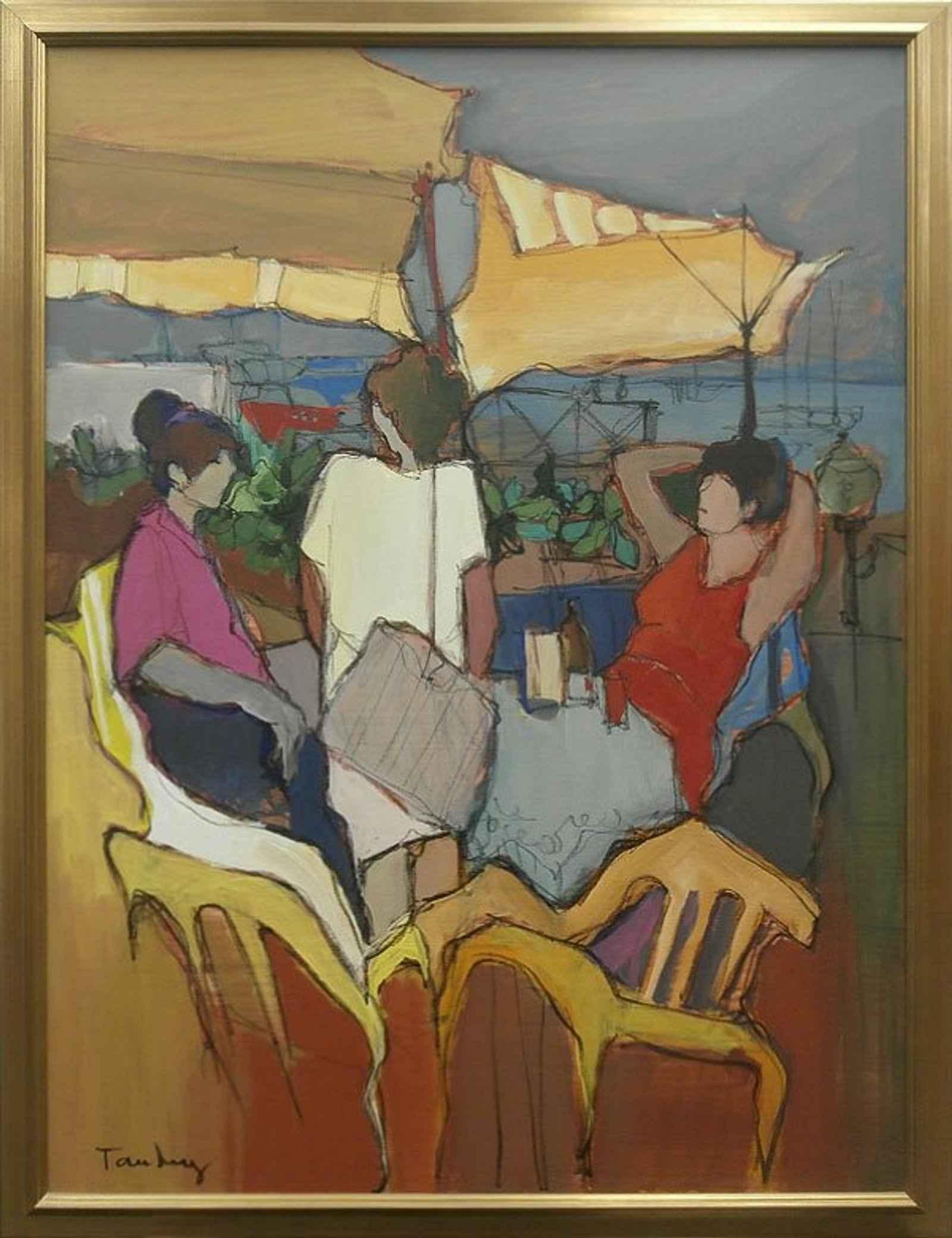 Women in Case by  Itzchak Tarkay - Masterpiece Online
