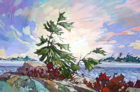 The Wind & The Pine by  Paul Paquette - Masterpiece Online