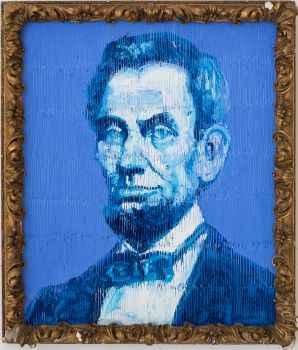 Pres Lincoln  by  Hunt Slonem