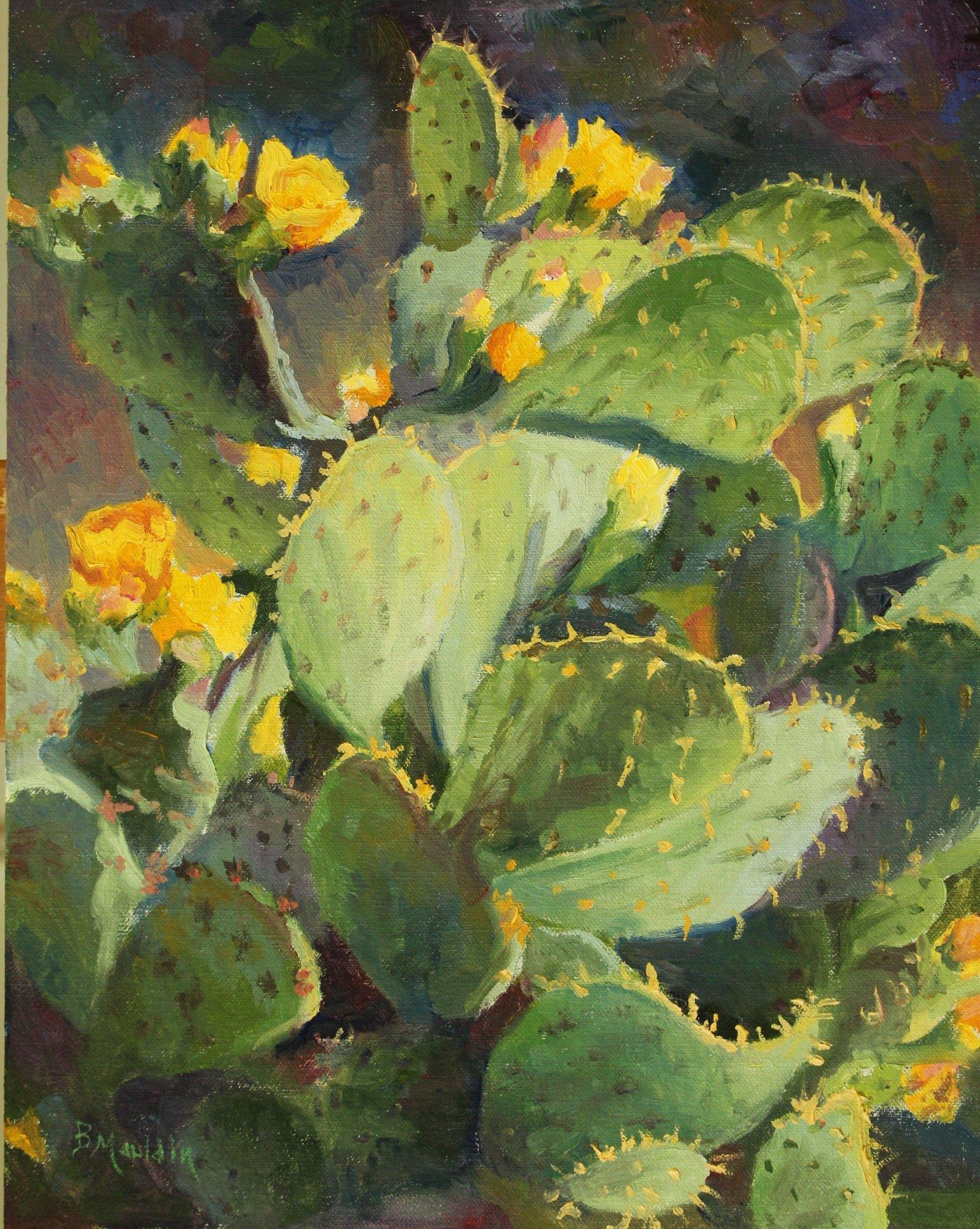 Cactus Dance by  Barbara Mauldin - Masterpiece Online