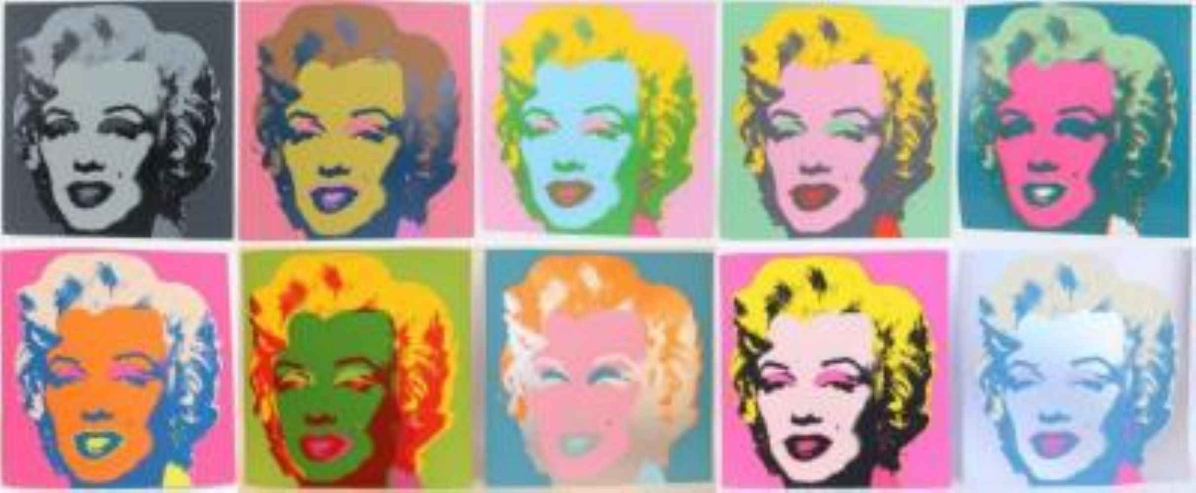 Warhol's Marilyn - ... by  Andy Warhol - Masterpiece Online