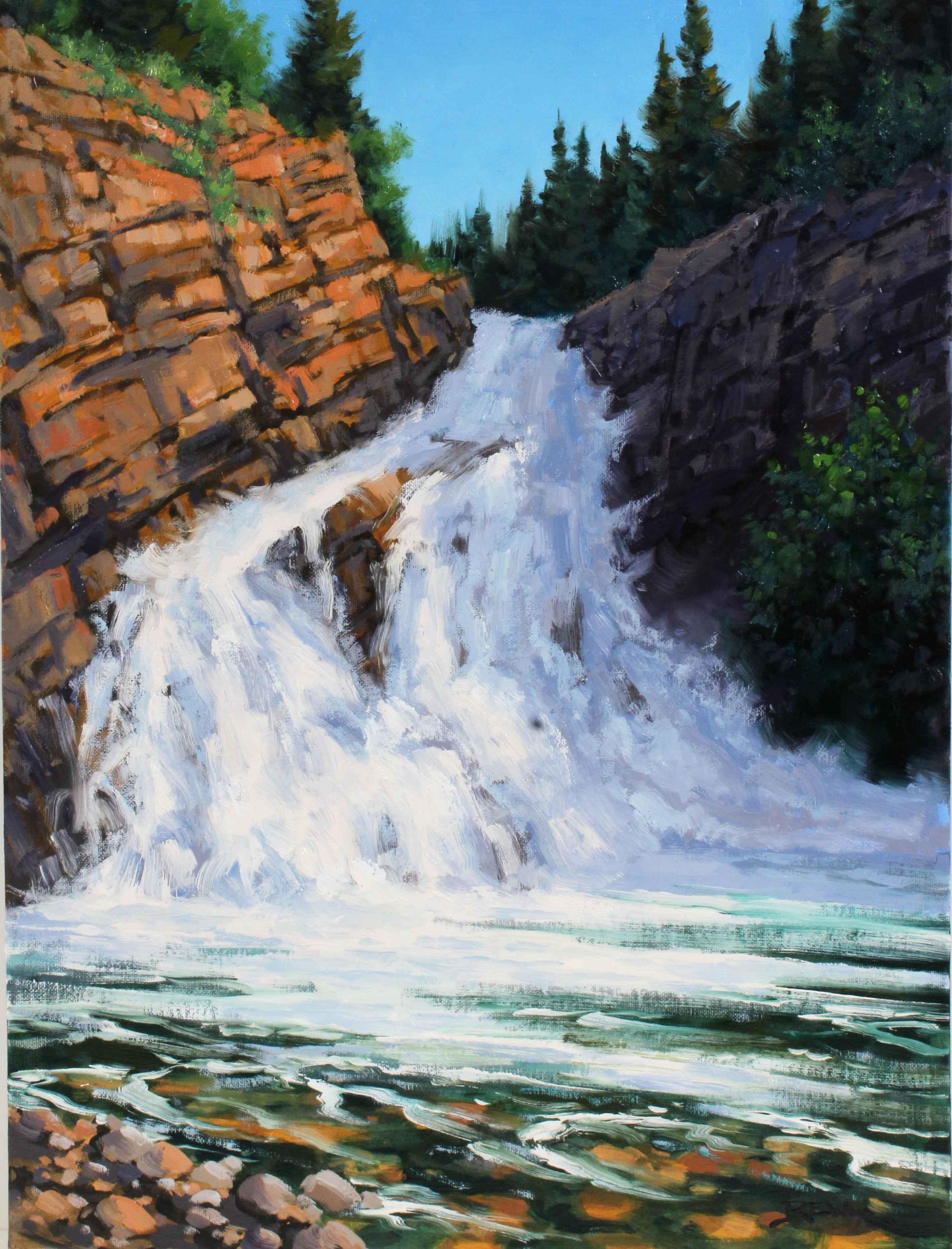 Cameron Falls in June...