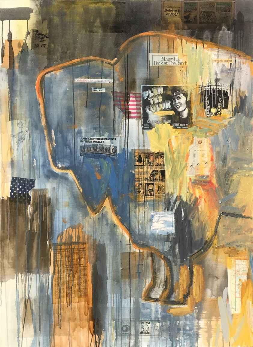 Buffalo by  Juane Quick - Masterpiece Online