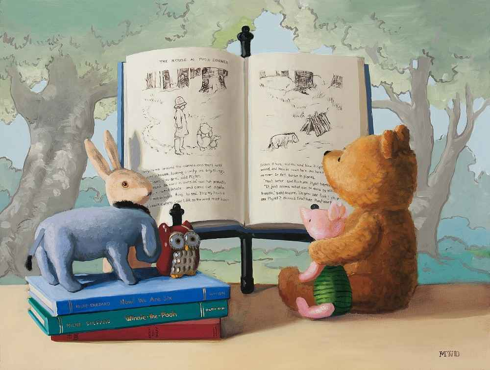 Hundred Acre Wood by  Michelle Waldele - Masterpiece Online