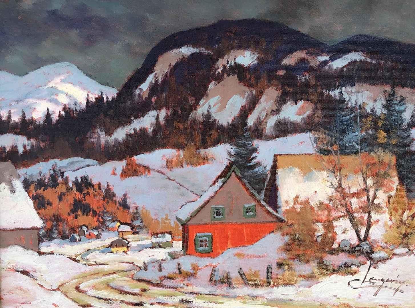 La Maison Rouge by  Claude Langevin - Masterpiece Online