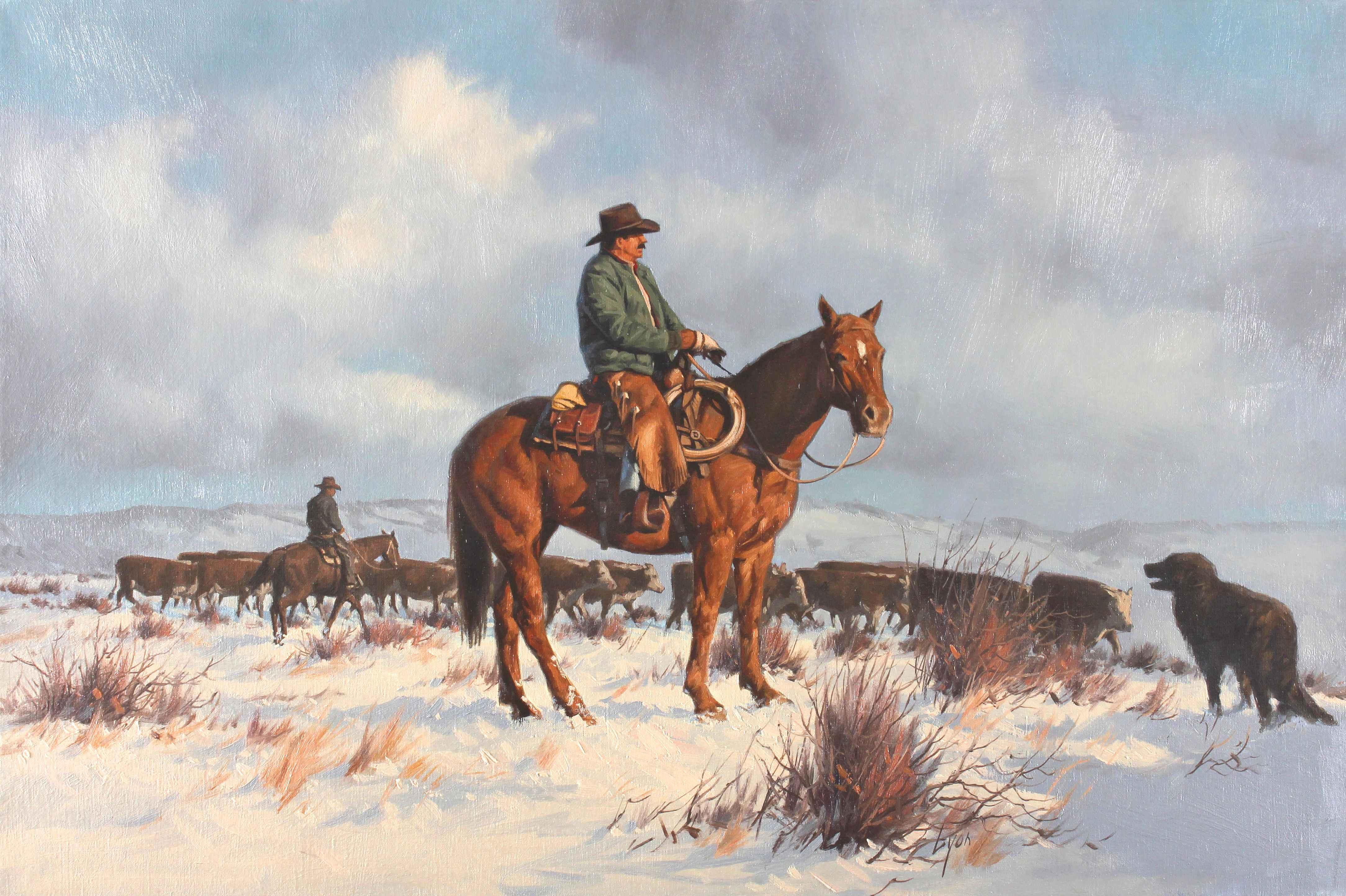 Douglas Lake Cattle D...  by  Harold Lyon