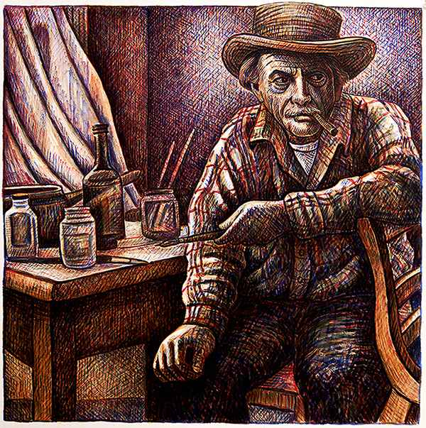 Benton Stare by  Patrick Doughman - Masterpiece Online