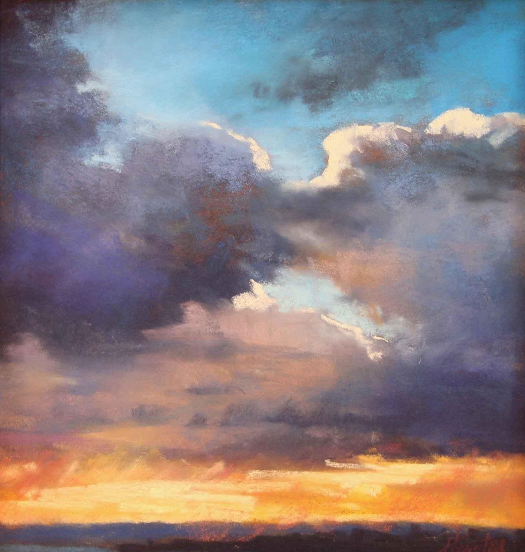 Dramatic Clouds by  Amanda Houston - Masterpiece Online