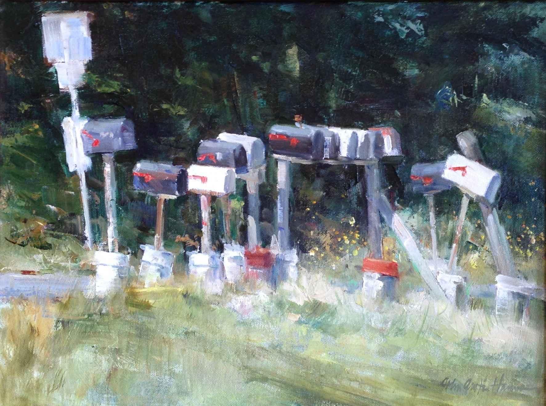 Rural Delivery by  John Austin Hanna - Masterpiece Online