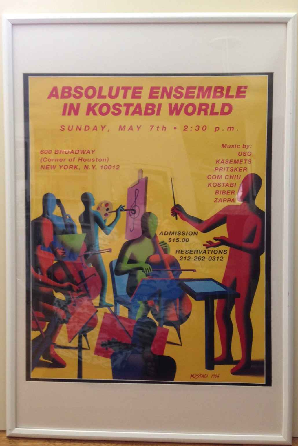 Absolute Ensemble in ... by  Mark Kostabi - Masterpiece Online
