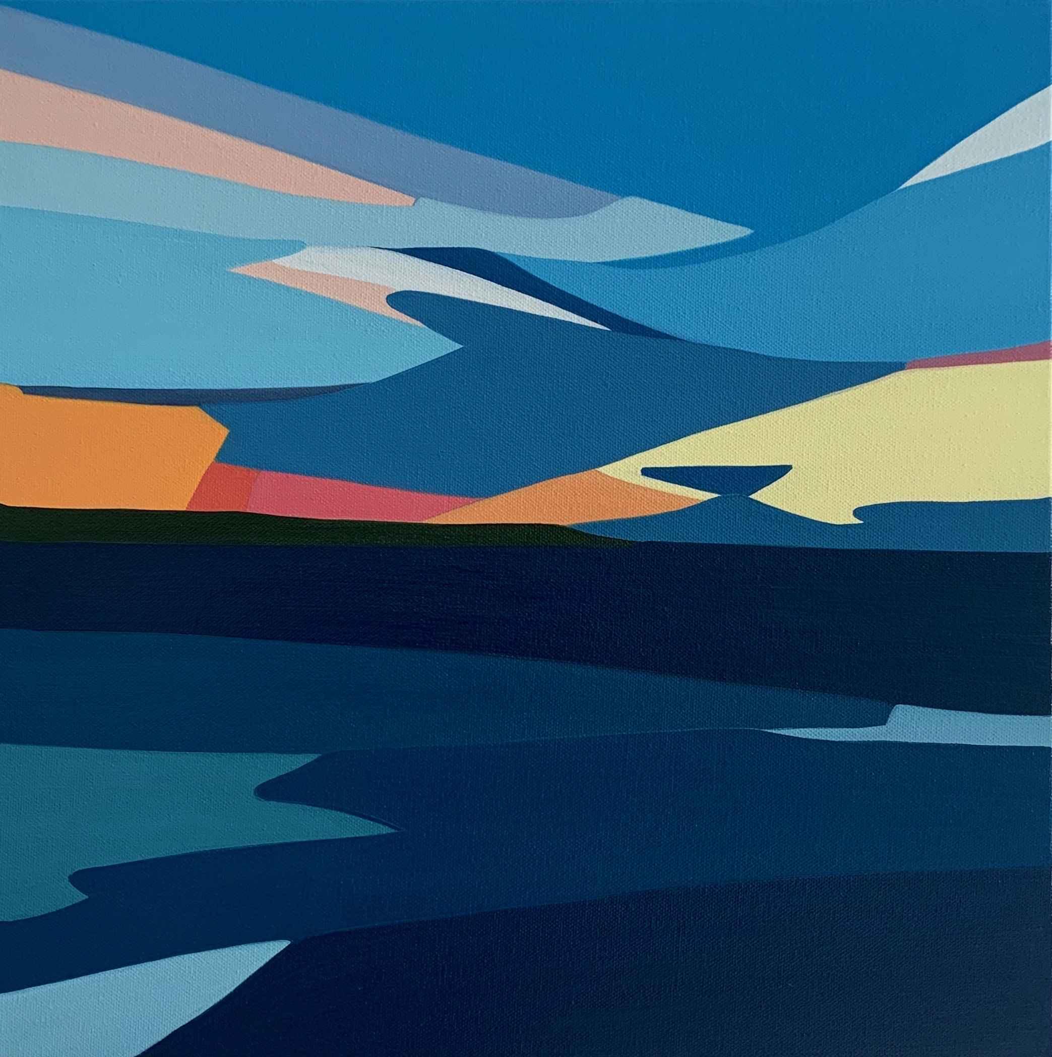 Sunset Surroundings by  Rachael Cassiani - Masterpiece Online