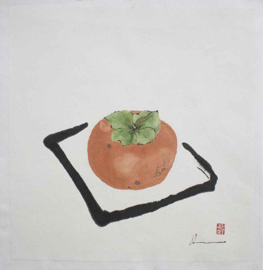 Persimmon by  Louise Kikuchi - Masterpiece Online