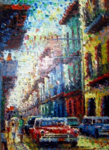 Street Life by  Alexander Cervantes Pupo - Masterpiece Online