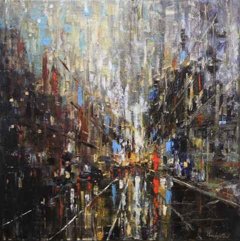 Main Street by  Bob Bradshaw - Masterpiece Online