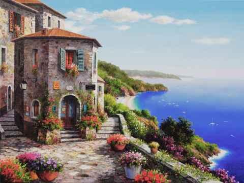 Corner Inn by  Soon Ju Choi  - Masterpiece Online