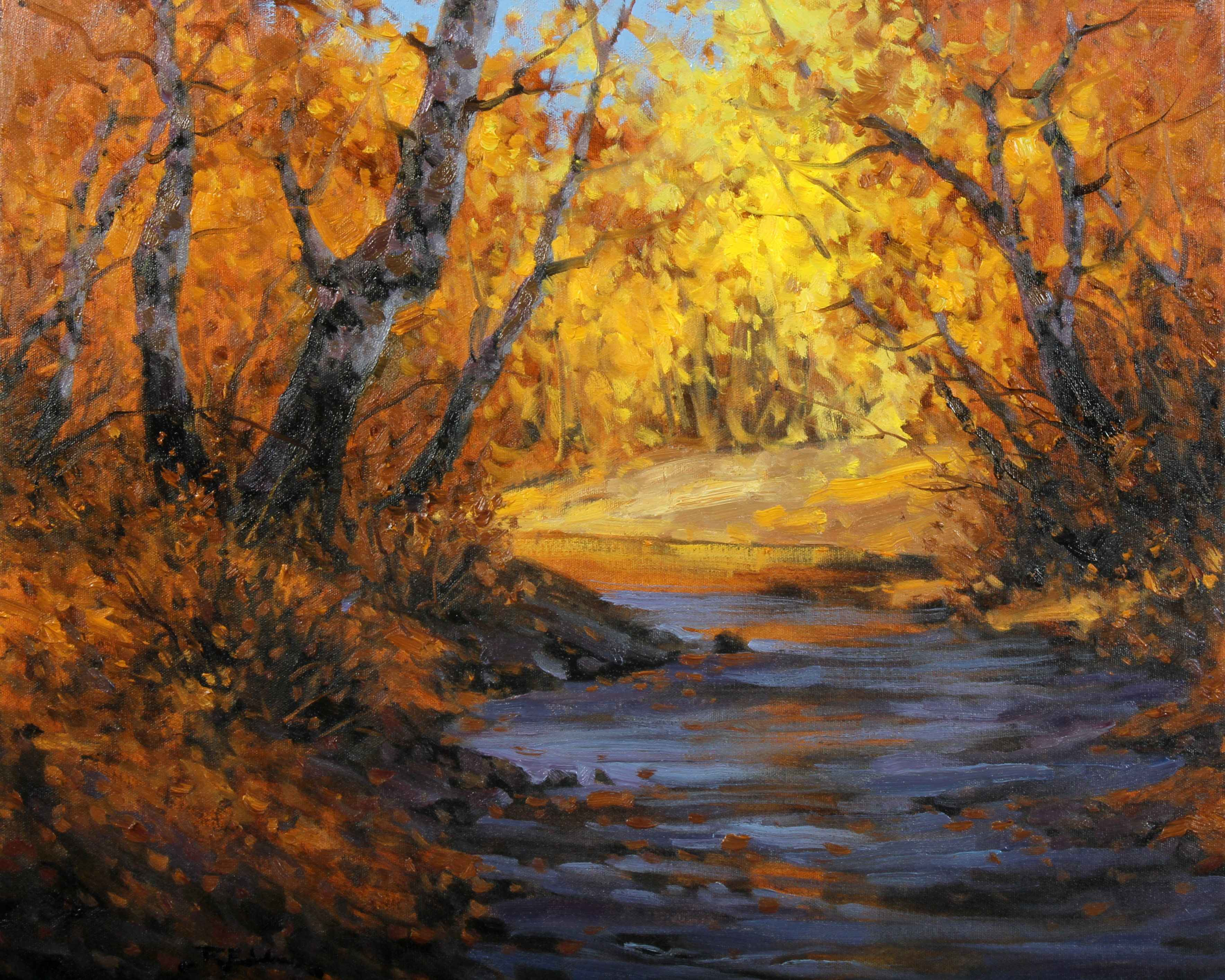 Through the Shadows by  Robert E. Wood - Masterpiece Online