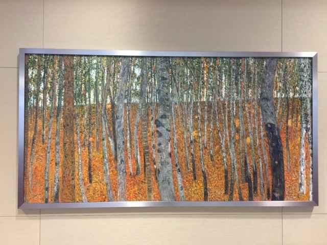 Beech Forest Buchenwa... by  Gustav Klimt - Masterpiece Online