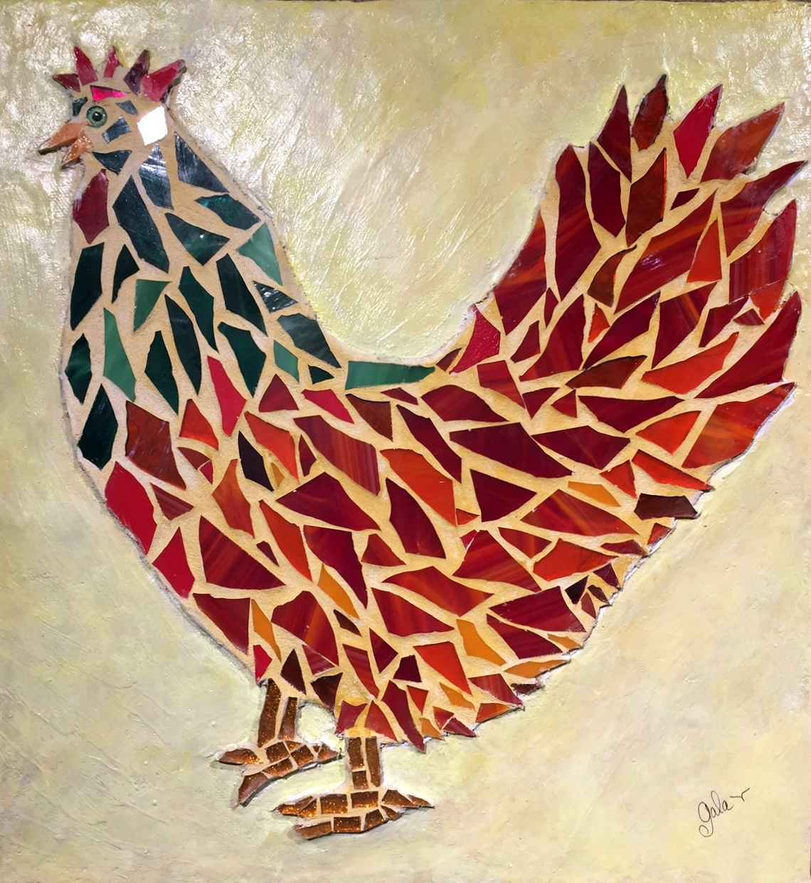 Rooster by  Gala Kraftsow - Masterpiece Online