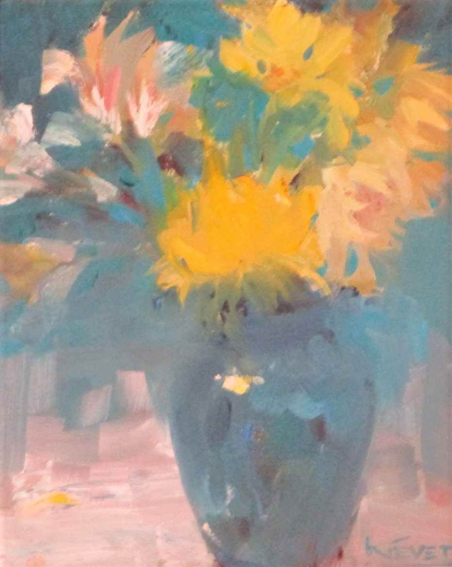 Yellow Attraction by  Fran Kievet - Masterpiece Online