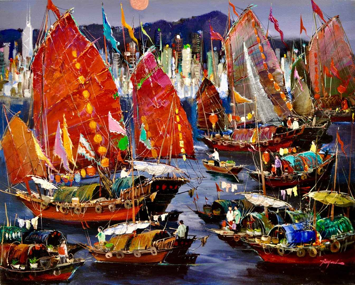 Majesty of the Seas by  Tinyan Chan - Masterpiece Online