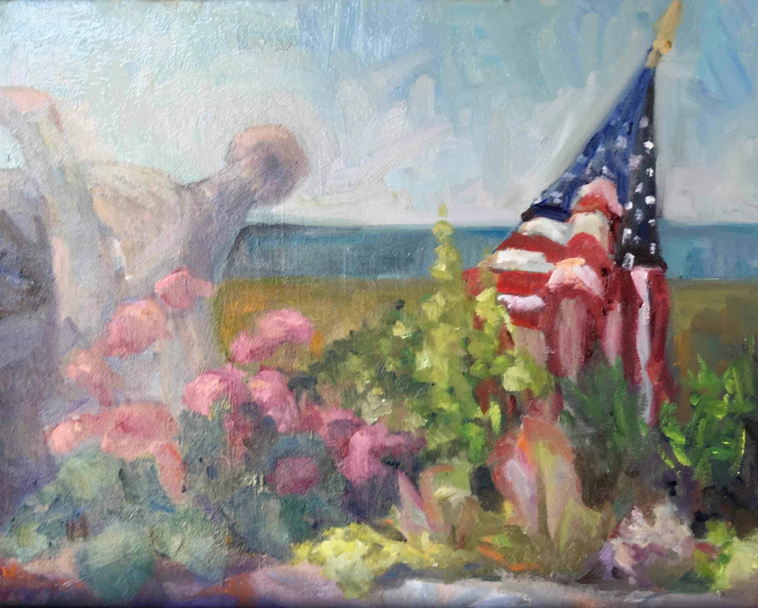 Patriot Window by  Laura Jemison - Masterpiece Online