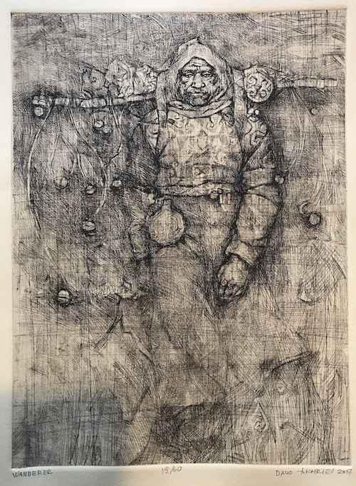 Wanderer by  Daud Akhriev - Masterpiece Online
