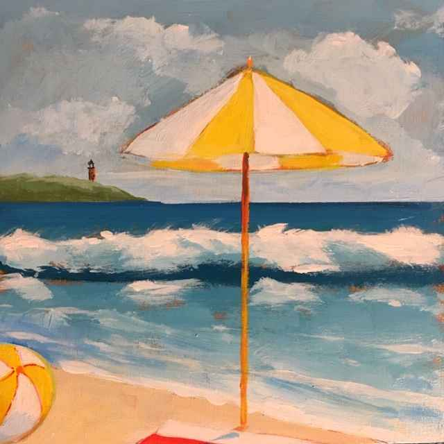View of the Lighthouse by  Kate Winn - Masterpiece Online