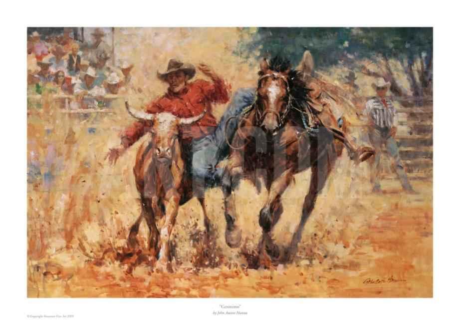 Geronimo - Print on P... by  John Austin Hanna - Masterpiece Online