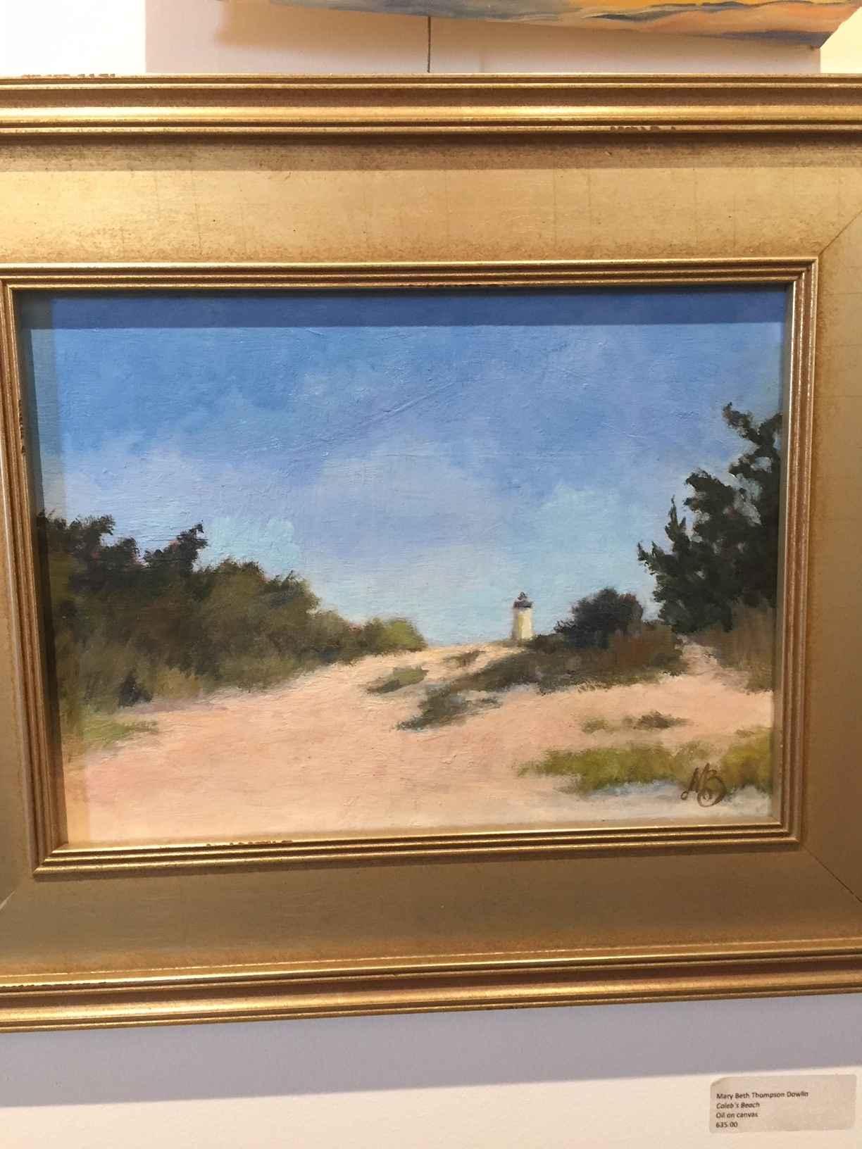 Caleb's Beach by  Mary Beth Thompson Dowlin - Masterpiece Online