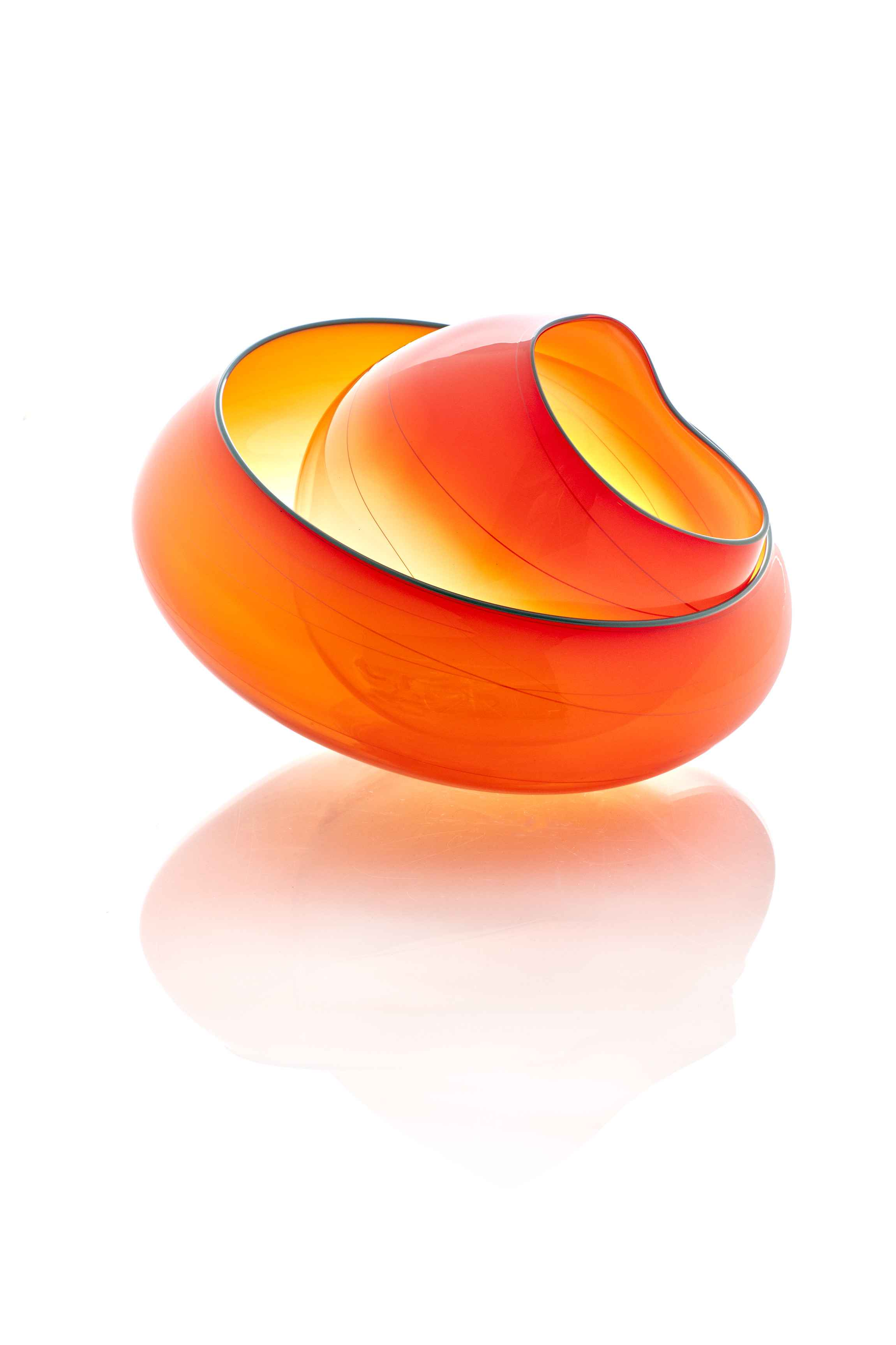Chihuly- Mandarin Ora... by  Dale Chihuly - Masterpiece Online
