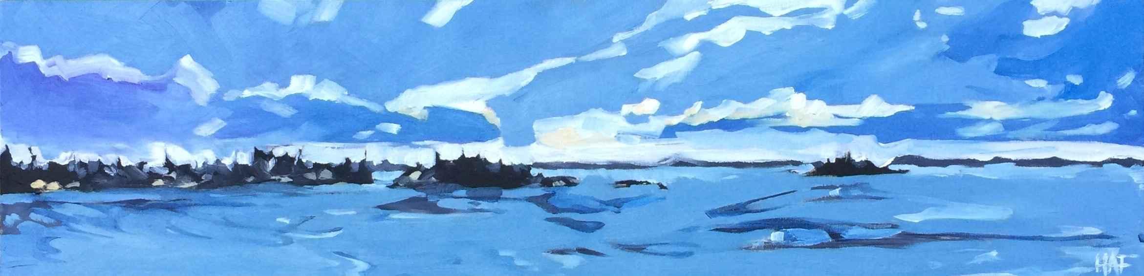 Island Blues by  Holly Ann Friesen - Masterpiece Online