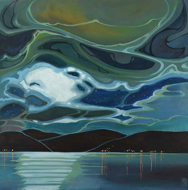 Moon Over Water by  Erica Hawkes - Masterpiece Online
