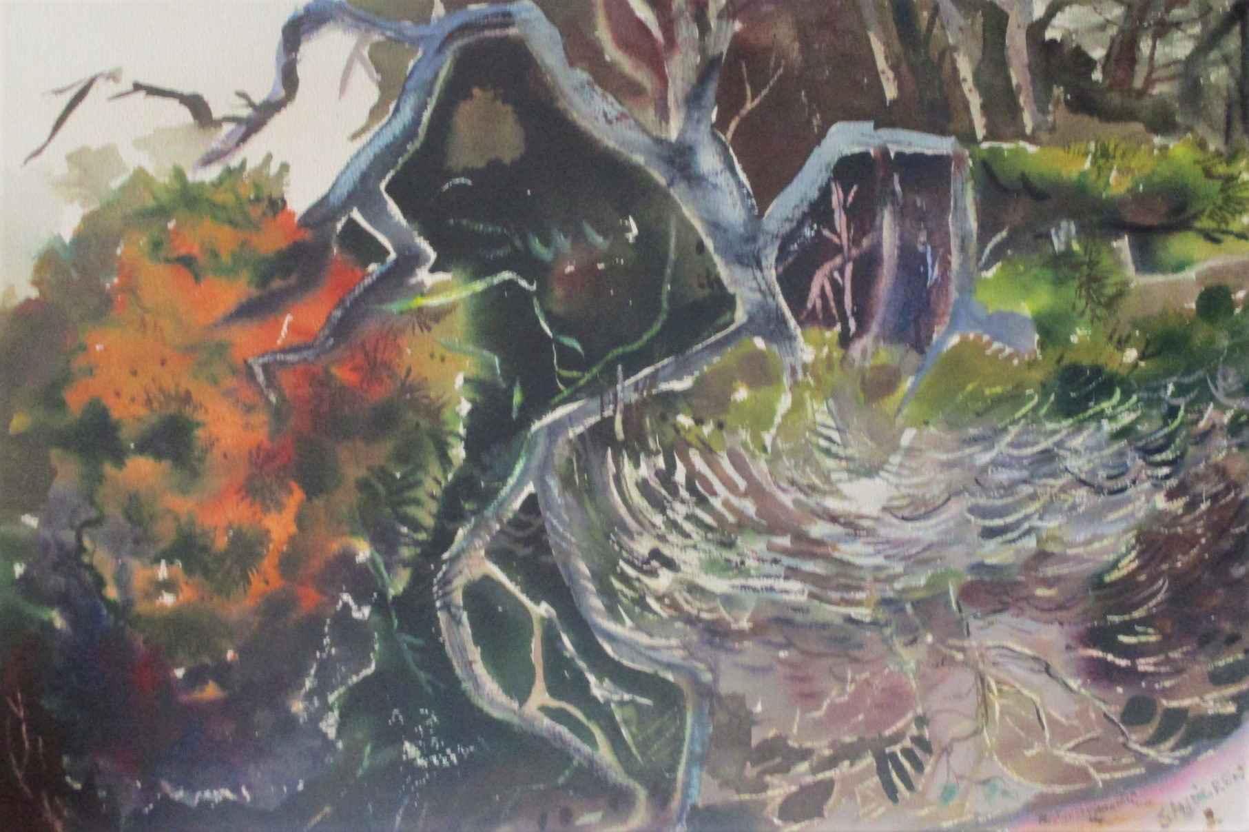 Unknown (trees) by  Nelson Sandgren - Masterpiece Online