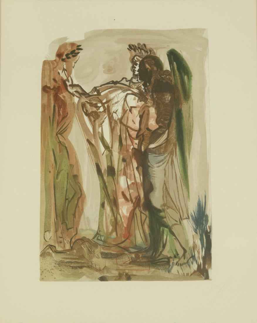 The Proud Ones by  Salvador Dali - Masterpiece Online