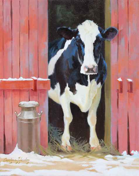 Another Barn Baby by  Carolyne Hawley - Masterpiece Online