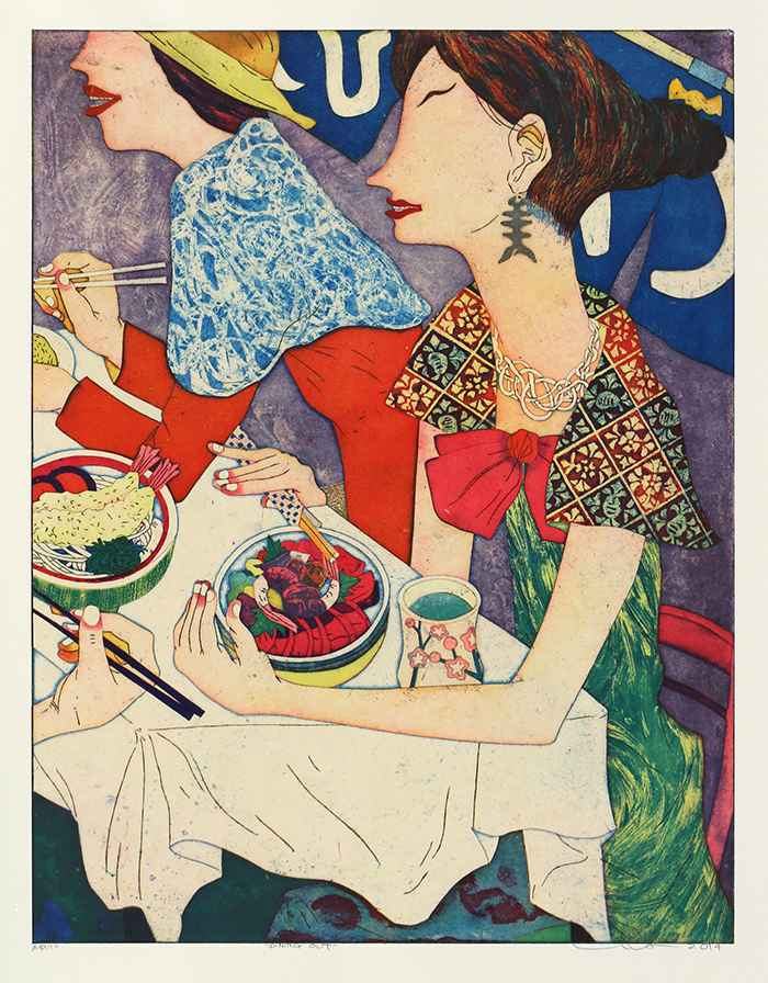 Dining Out by  Yuji Hiratsuka - Masterpiece Online