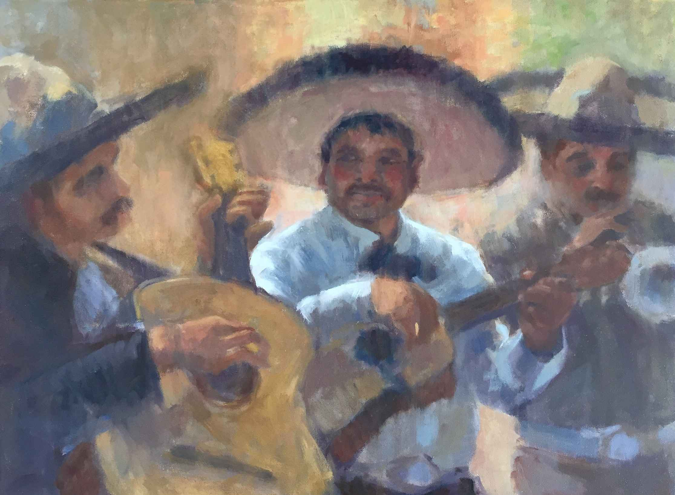 Mariachi Brothers by  Bruce Bingham - Masterpiece Online