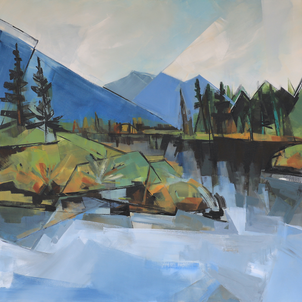 Vermillion Lakes by  Katie Leahul - Masterpiece Online