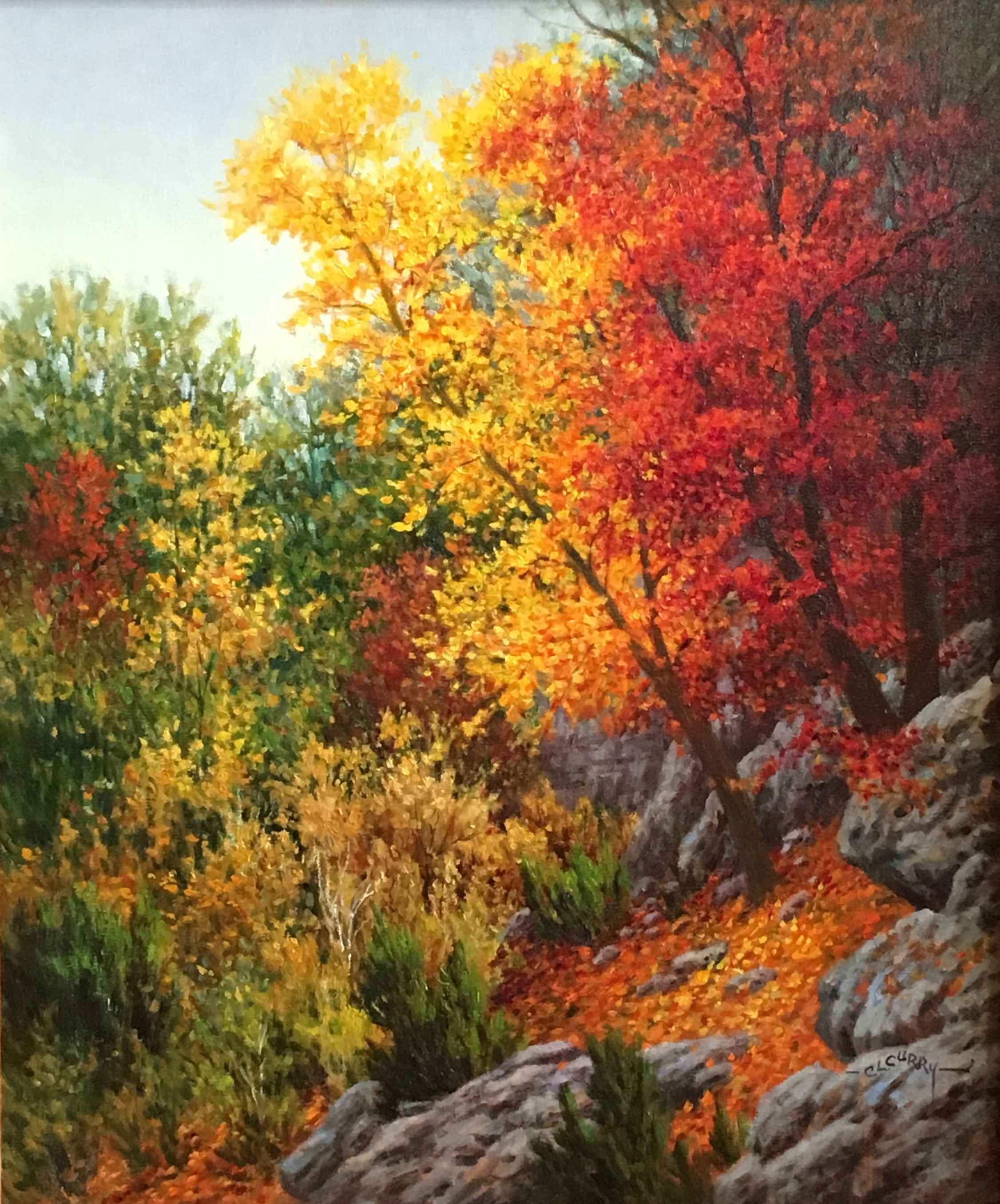 Hillside Gold by  Charlotte Curry - Masterpiece Online