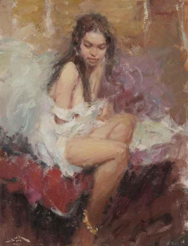 Rebecca by  Dan Beck - Masterpiece Online